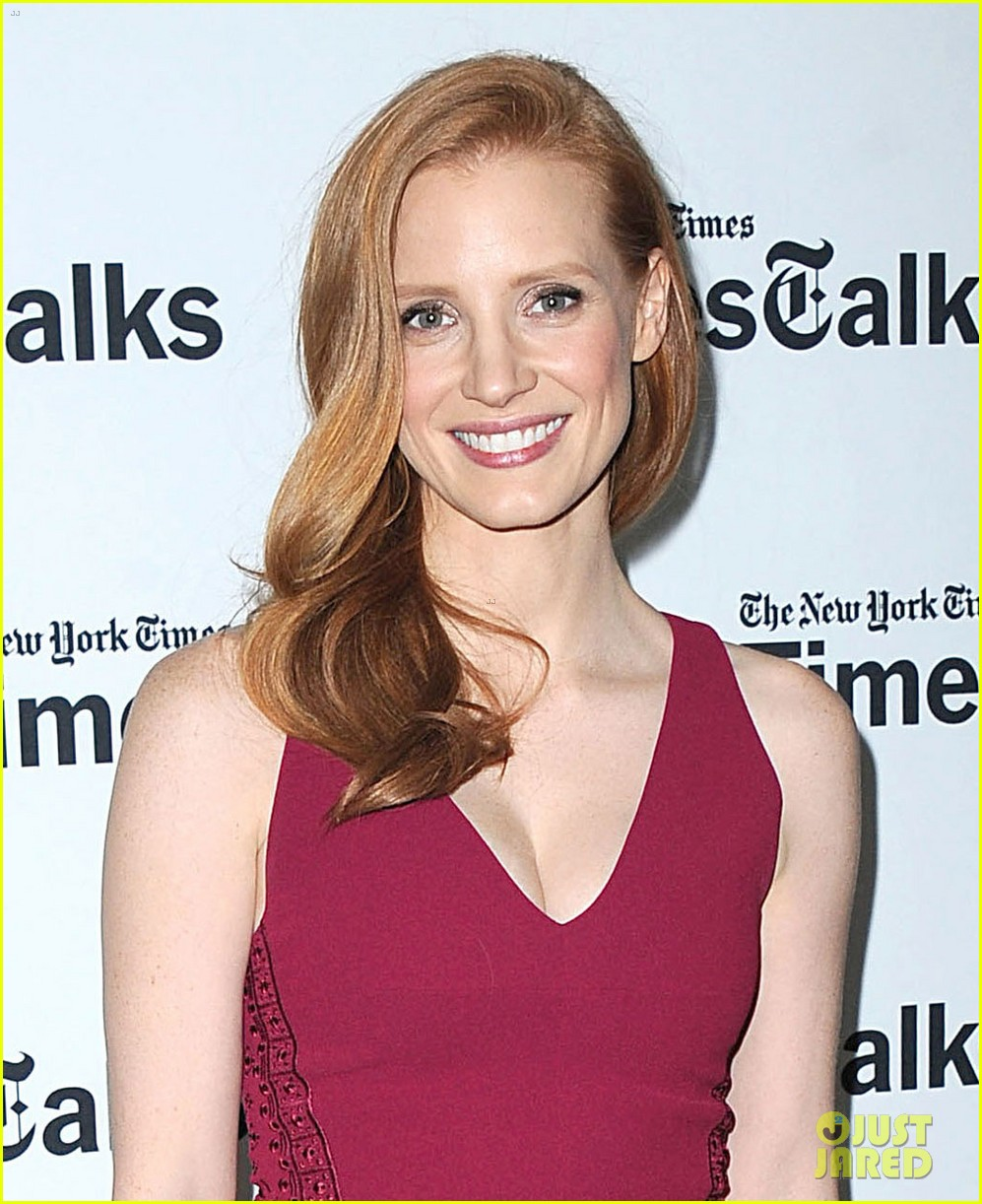 jessica chastain times talks appearance 022813644