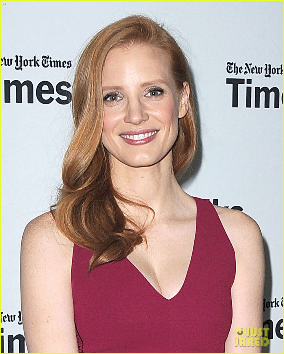 jessica chastain times talks appearance 042813646