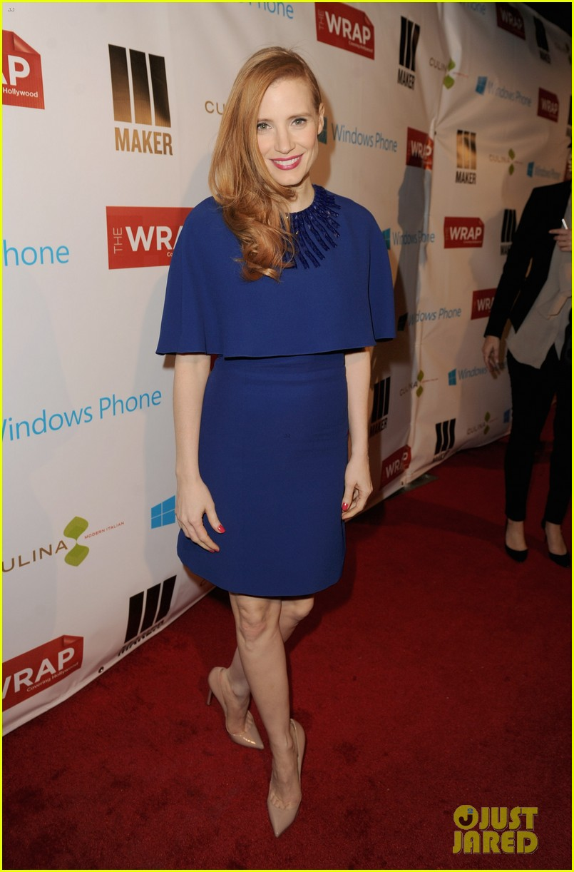jessica chastain the wrap pre oscars party 2013 012816122