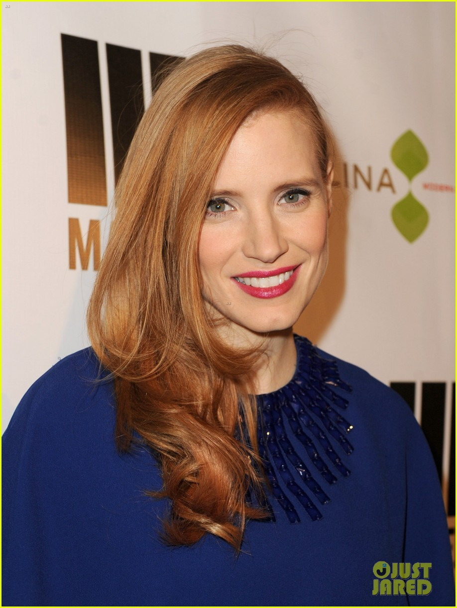 jessica chastain the wrap pre oscars party 2013 122816133