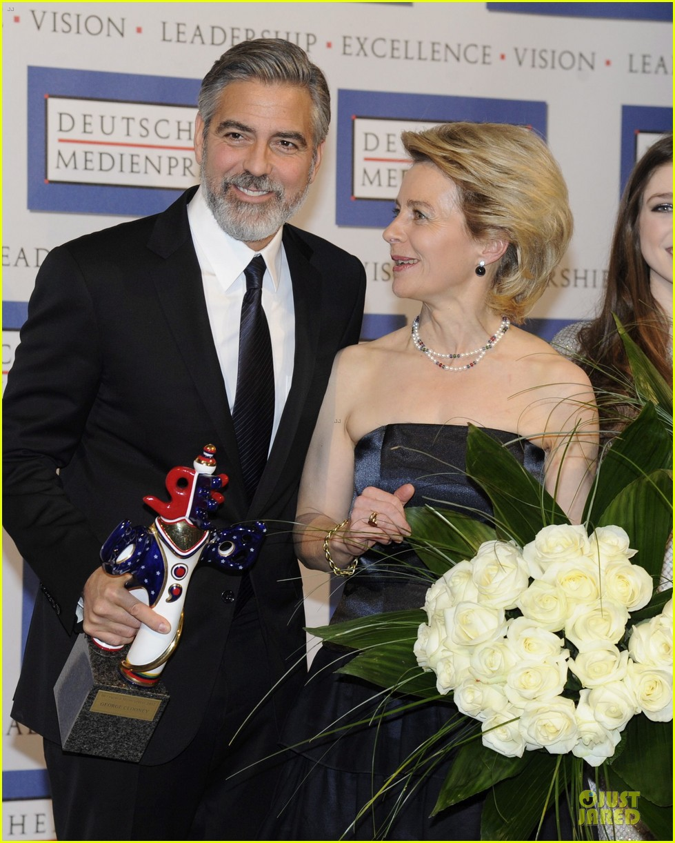george clooney deutscher medienpreis award honoree 112821439