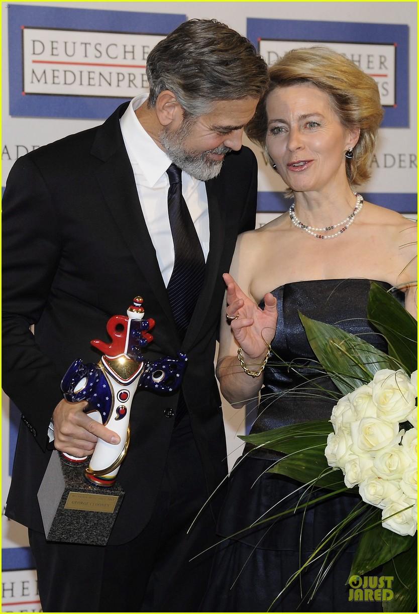 george clooney deutscher medienpreis award honoree 122821440