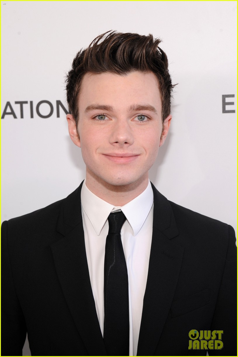 chris colfer matthew morrison elton john oscars party 2013 062819352