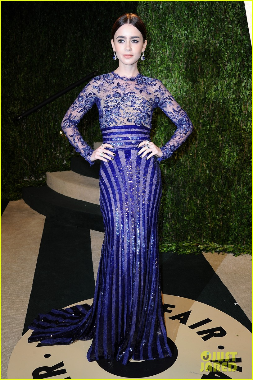 lily collins vanity fair oscars party 2013 072819895