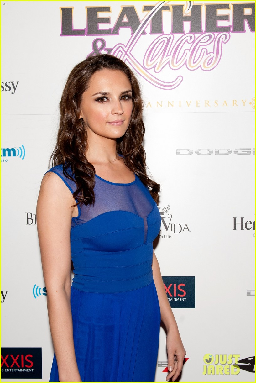 rachael leigh cook brooklyn decker leather laces party 062803924