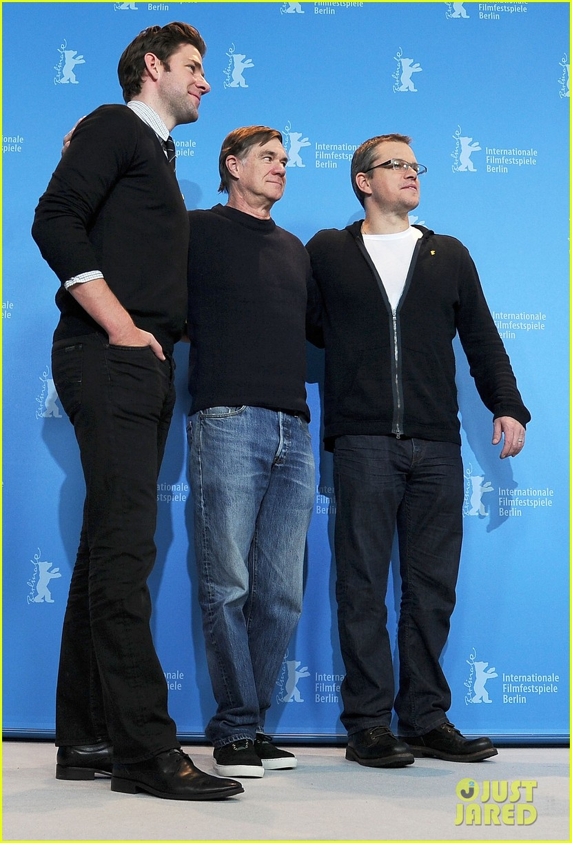 matt damon john krasinski promised land in berlin 05