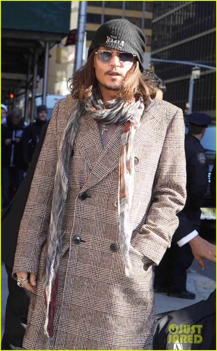 johnny depp letterman appearance as musical guest 022816640