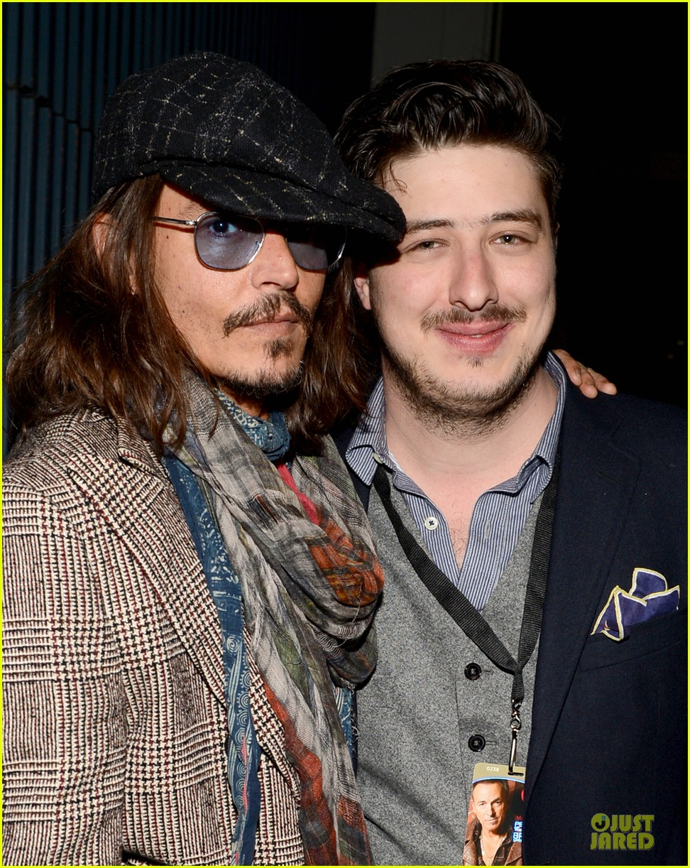 johnny depp marcus mumford grammys musicares person of the year event 022807883