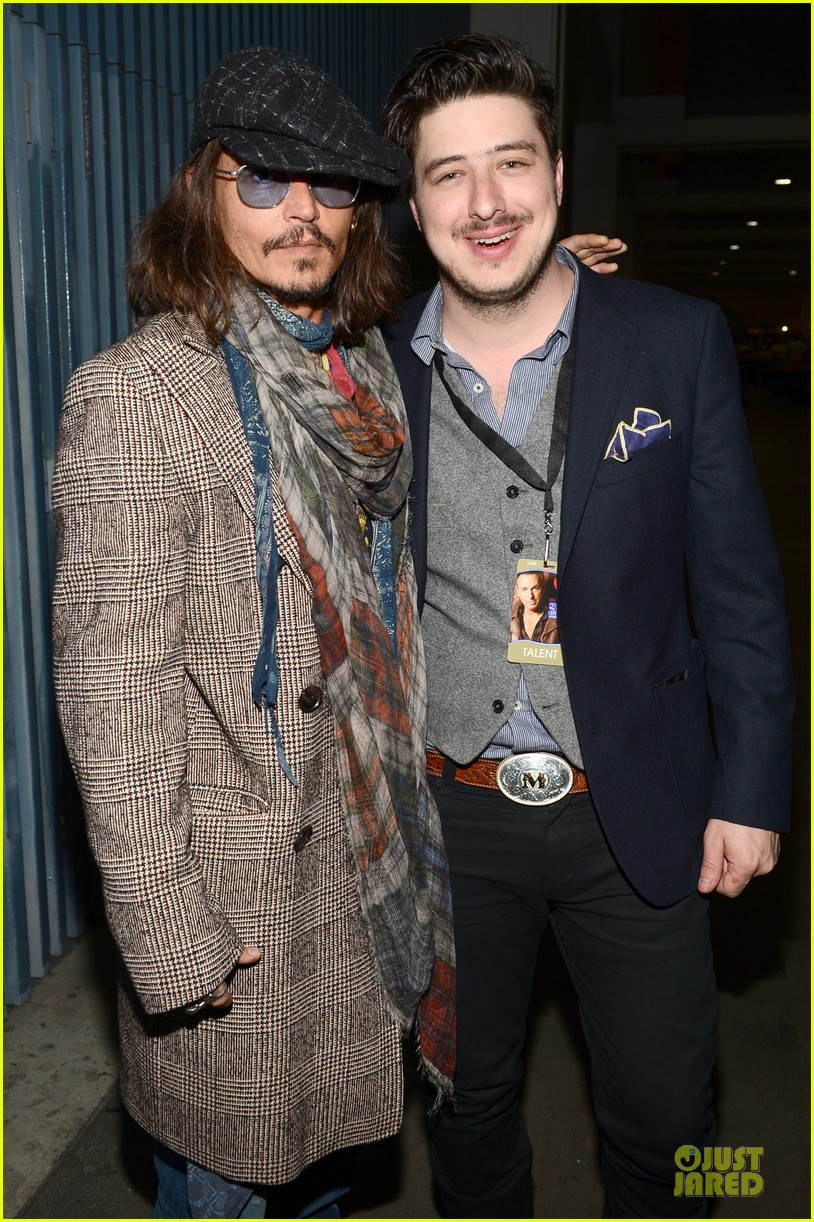 johnny depp marcus mumford grammys musicares person of the year event 032807884