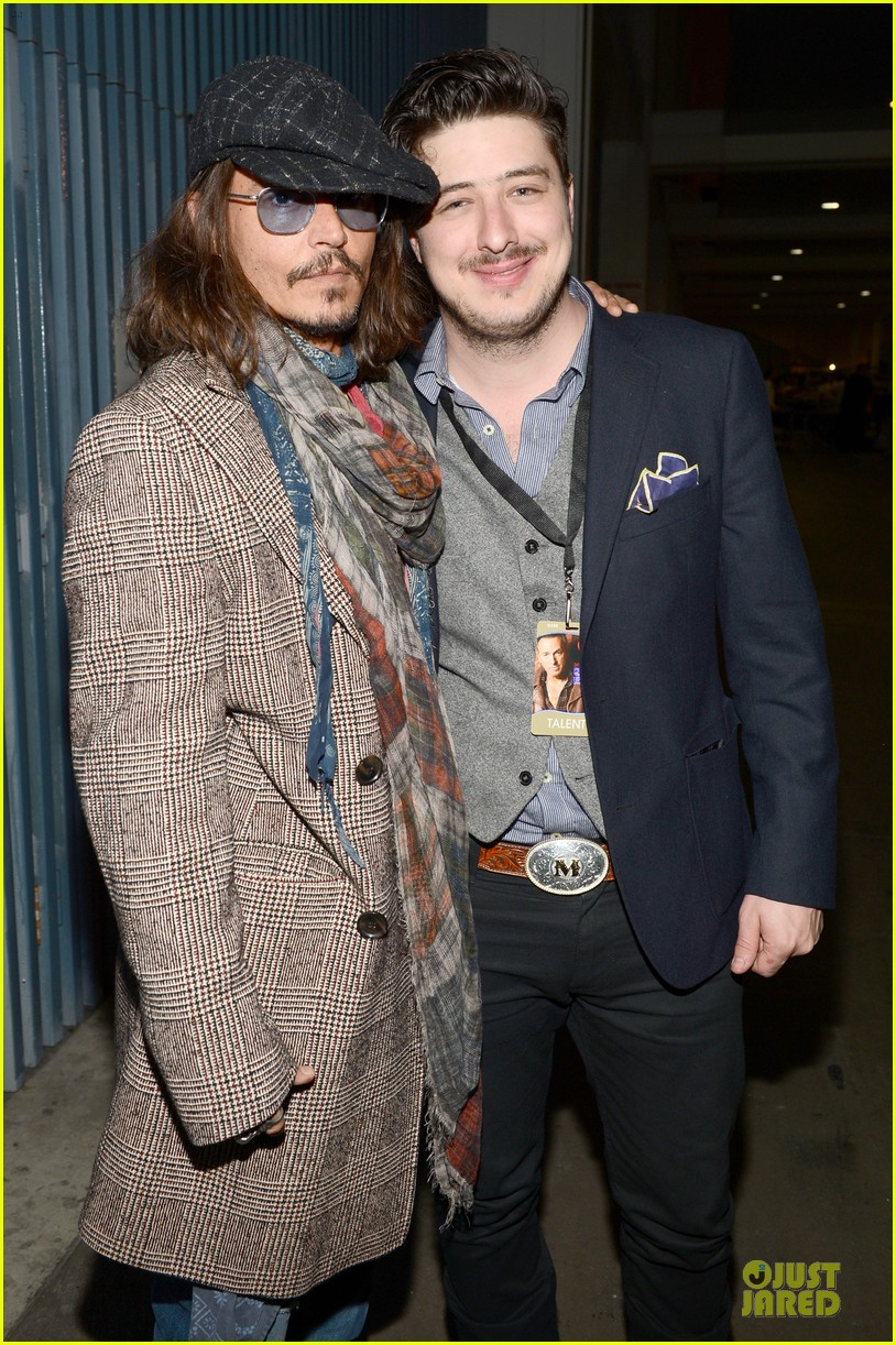 johnny depp marcus mumford grammys musicares person of the year event 05
