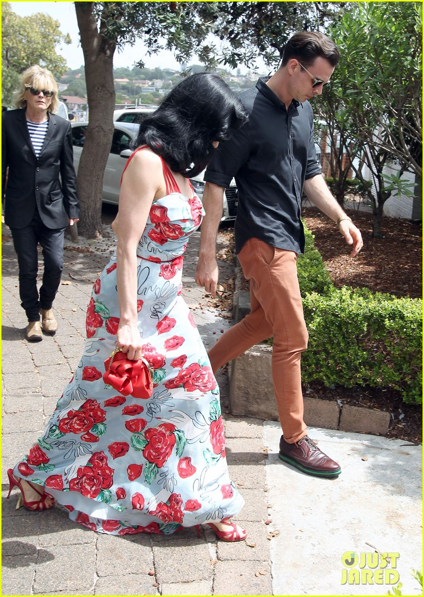 dita von teese catalina lunch with theo hutchcraft 042821068