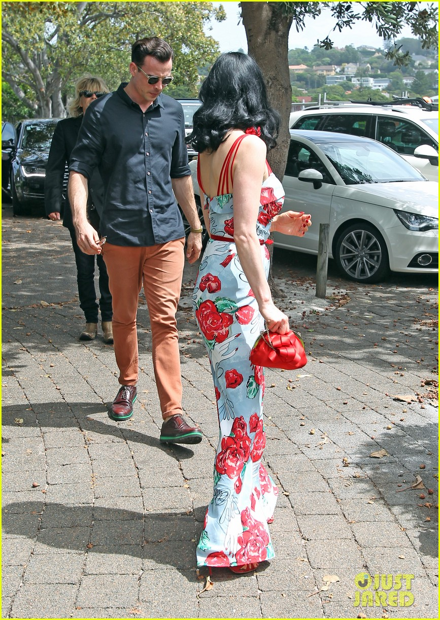 dita von teese catalina lunch with theo hutchcraft 052821069