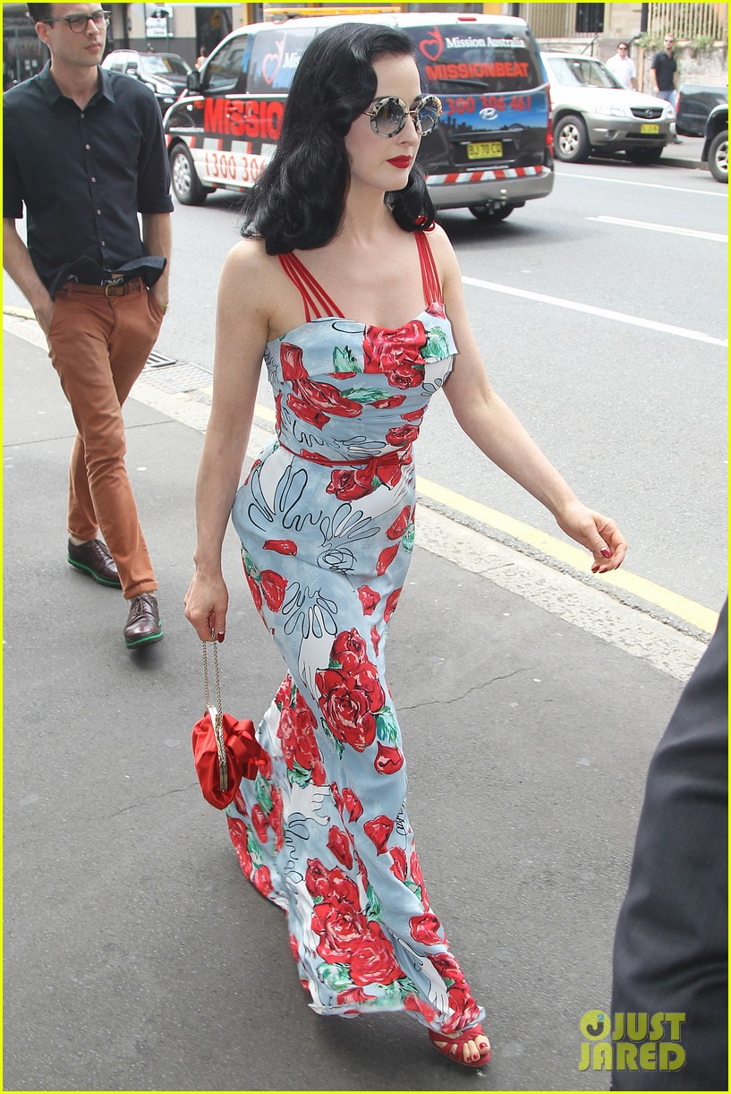dita von teese catalina lunch with theo hutchcraft 062821070
