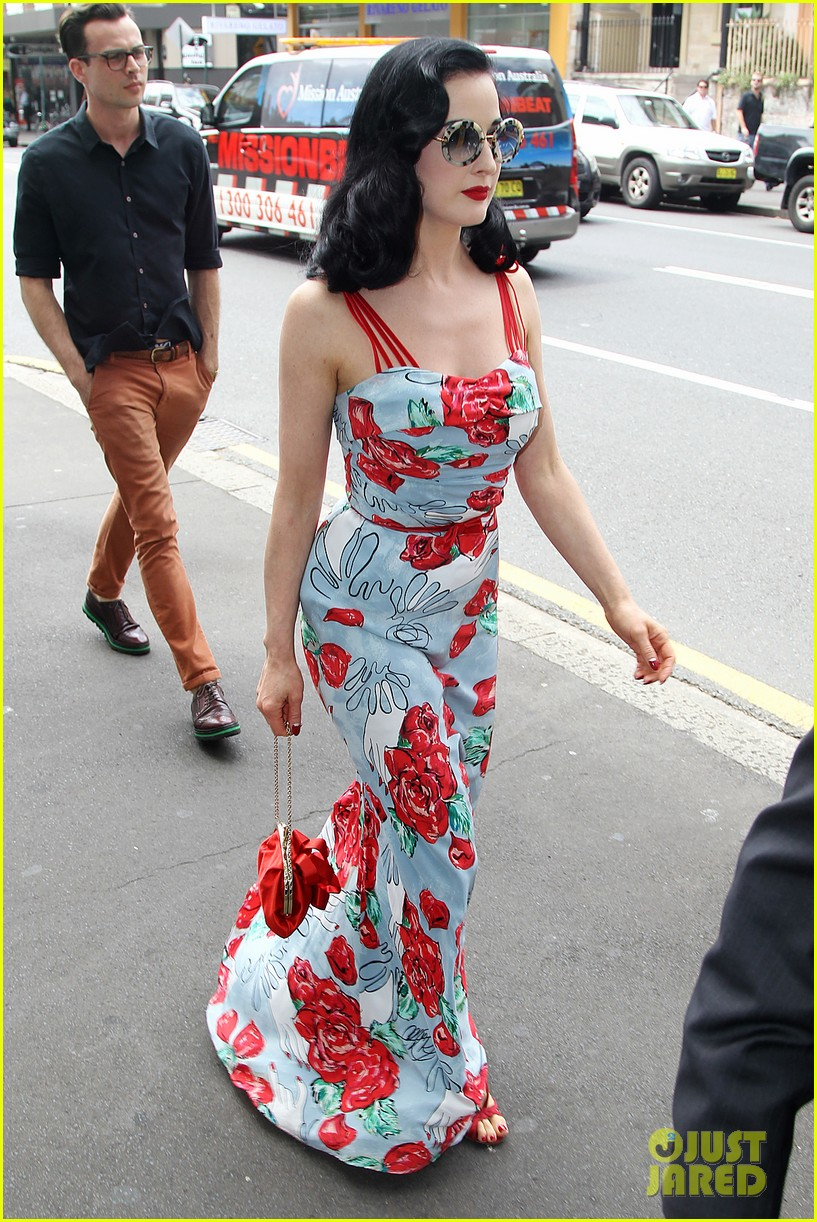 dita von teese catalina lunch with theo hutchcraft 082821072