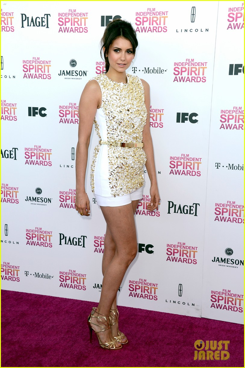 nina dobrev independent spirit awards 2013 08