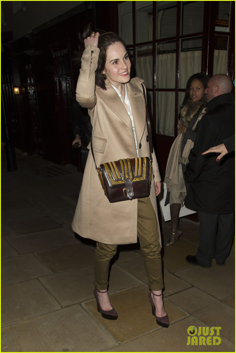michelle dockery downton abbey covers one direction 012815644