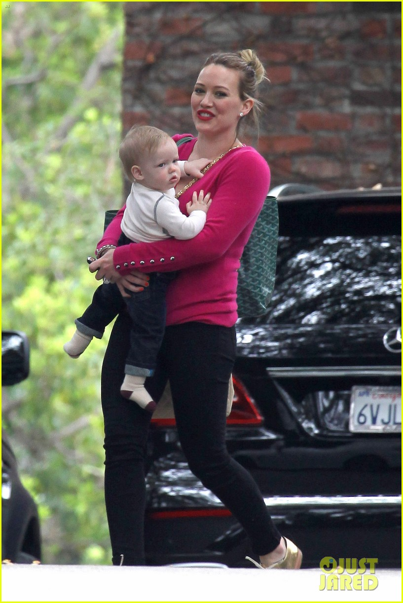 hilary duff fuschia is my color today 142806909