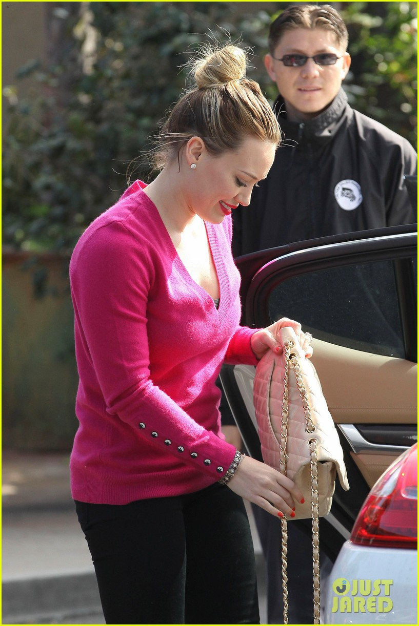 hilary duff fuschia is my color today 152806910