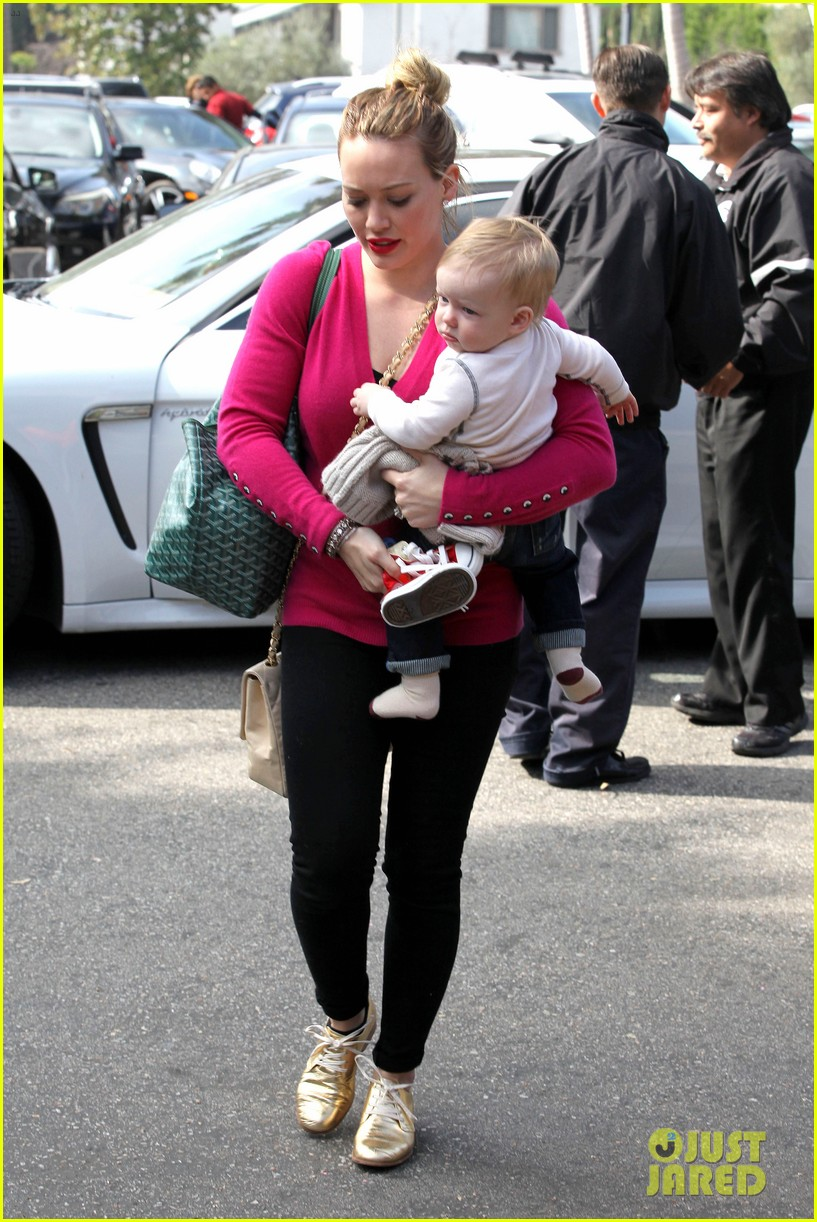 hilary duff fuschia is my color today 162806911