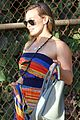 hilary duff hawaii sunset stroll 07