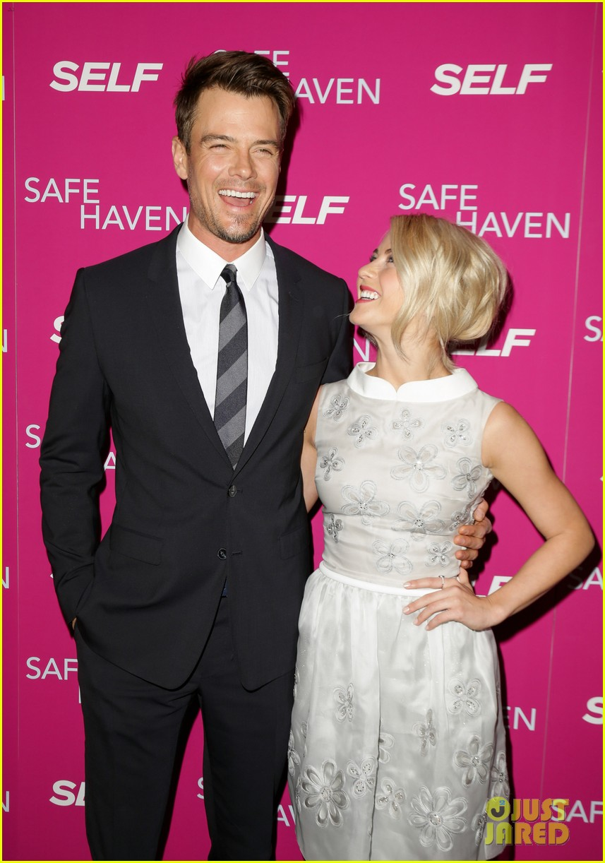 josh duhamel julianne hough safe haven ny premiere 242810359