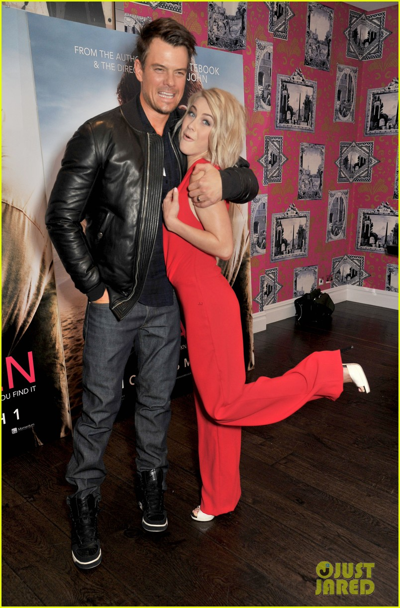 josh duhamel julianne hough safe haven photo call 122815608