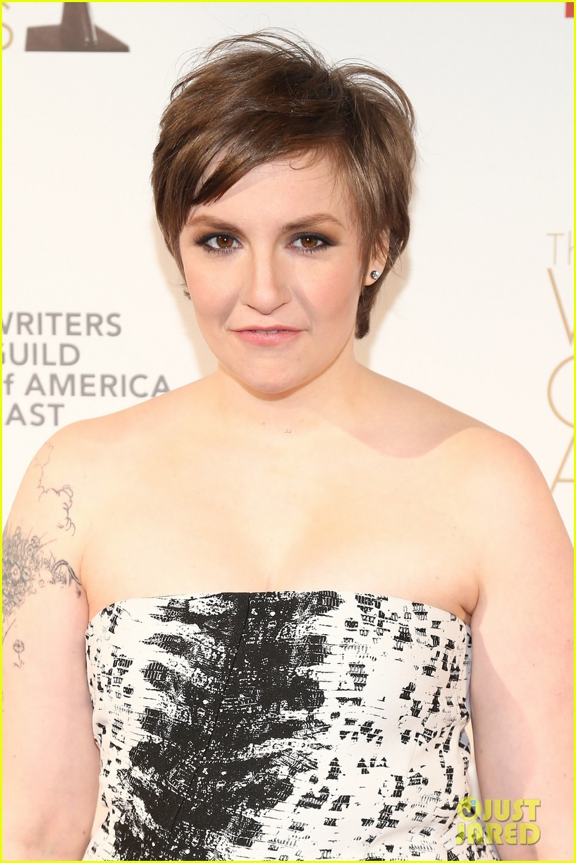 lena dunham writers guild east coast awards 02