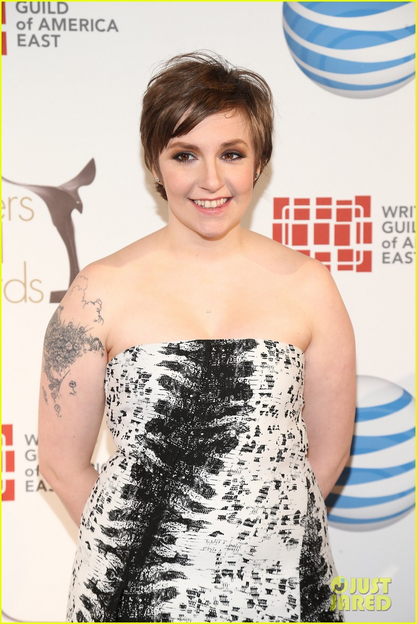 lena dunham writers guild east coast awards 042814330