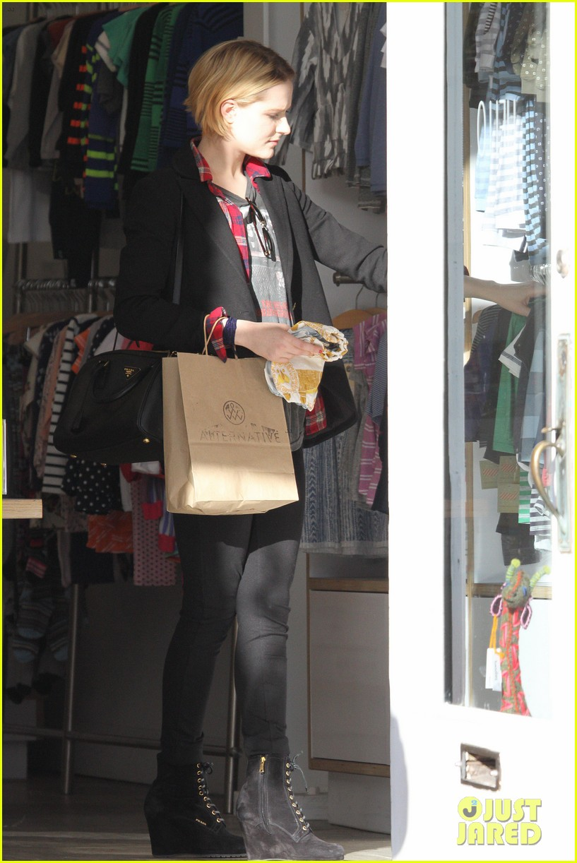evan rachel wood jamie bell baby shopping 122802435