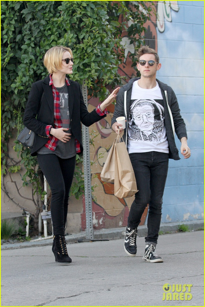 evan rachel wood jamie bell baby shopping 242802447