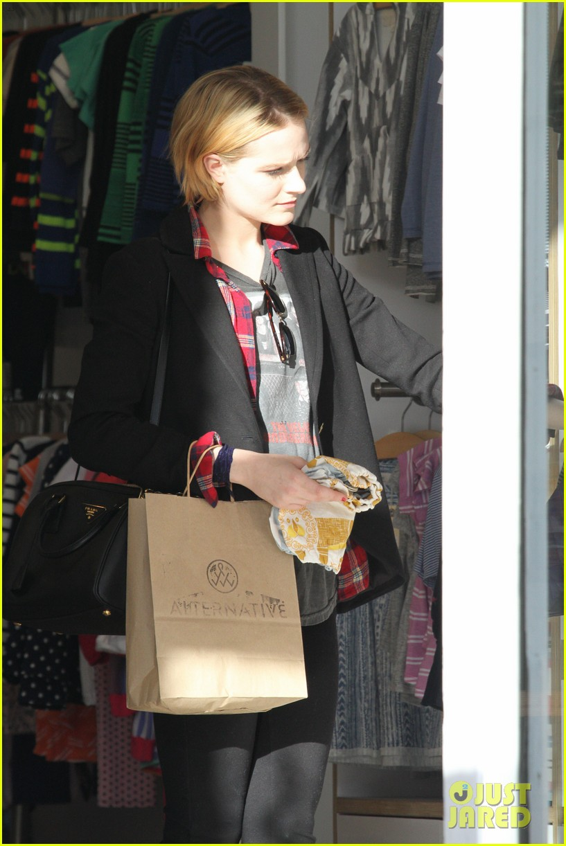 evan rachel wood jamie bell baby shopping 282802451