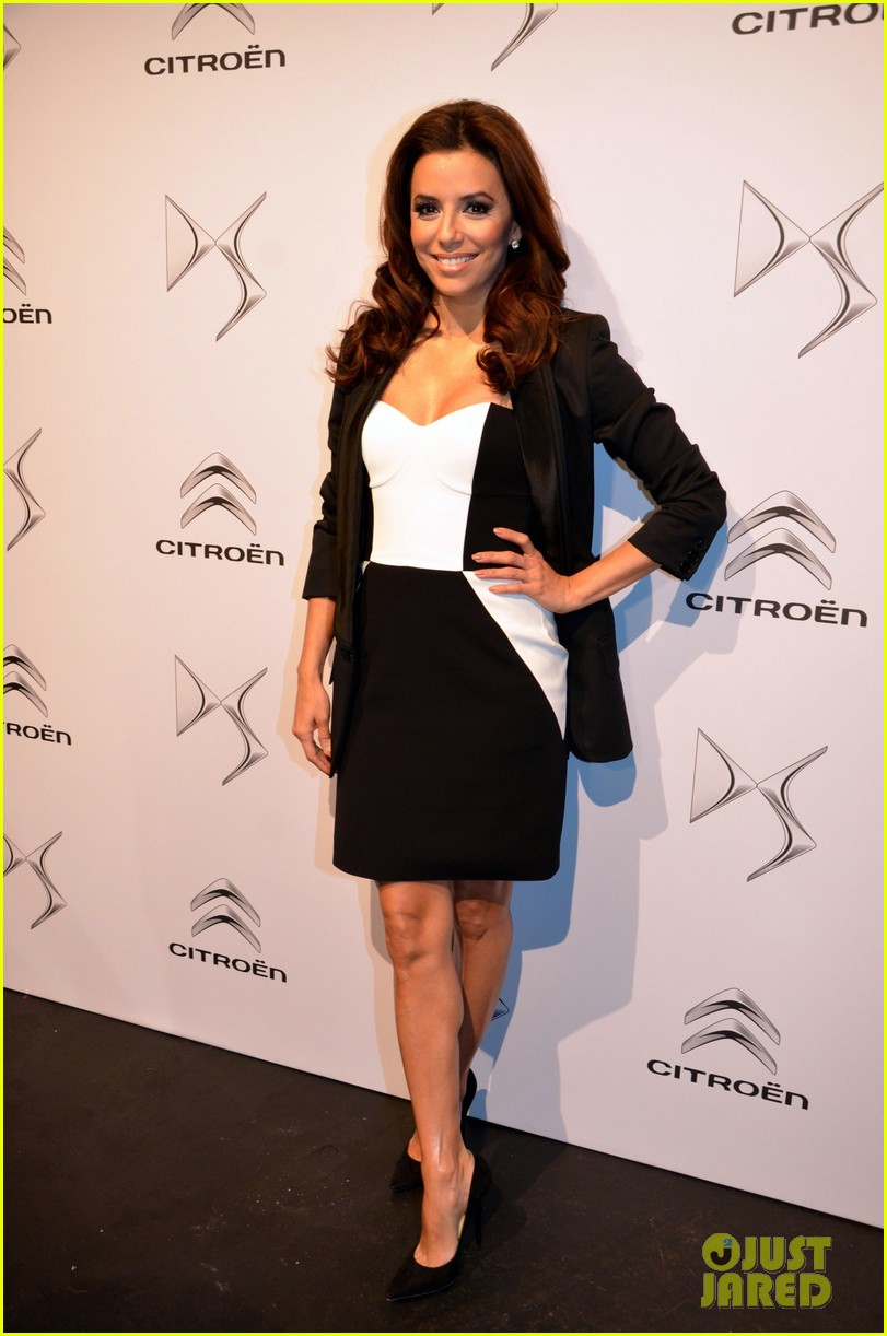 eva longoria citroen ds3 cabrio launch in berlin 14