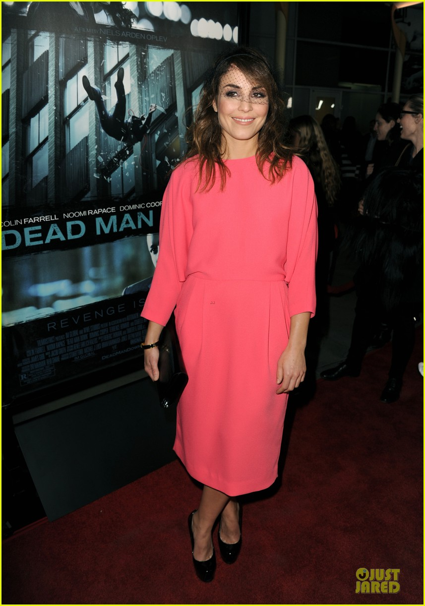 colin farrell noomi rapace dead man down hollywood premiere 012821567