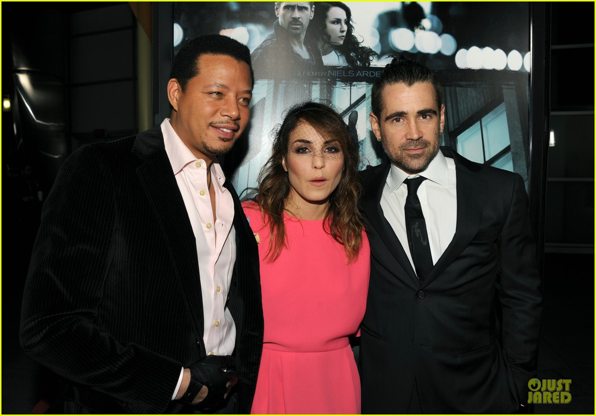 colin farrell noomi rapace dead man down hollywood premiere 03