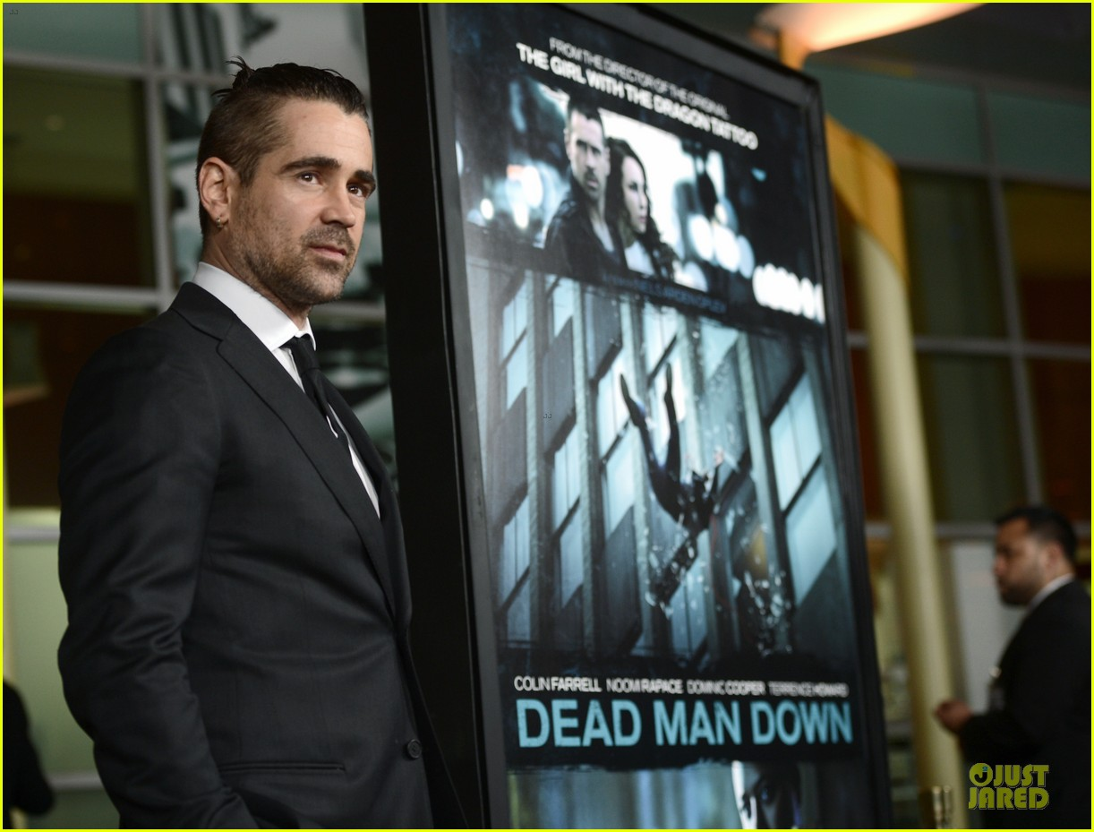 colin farrell noomi rapace dead man down hollywood premiere 112821577