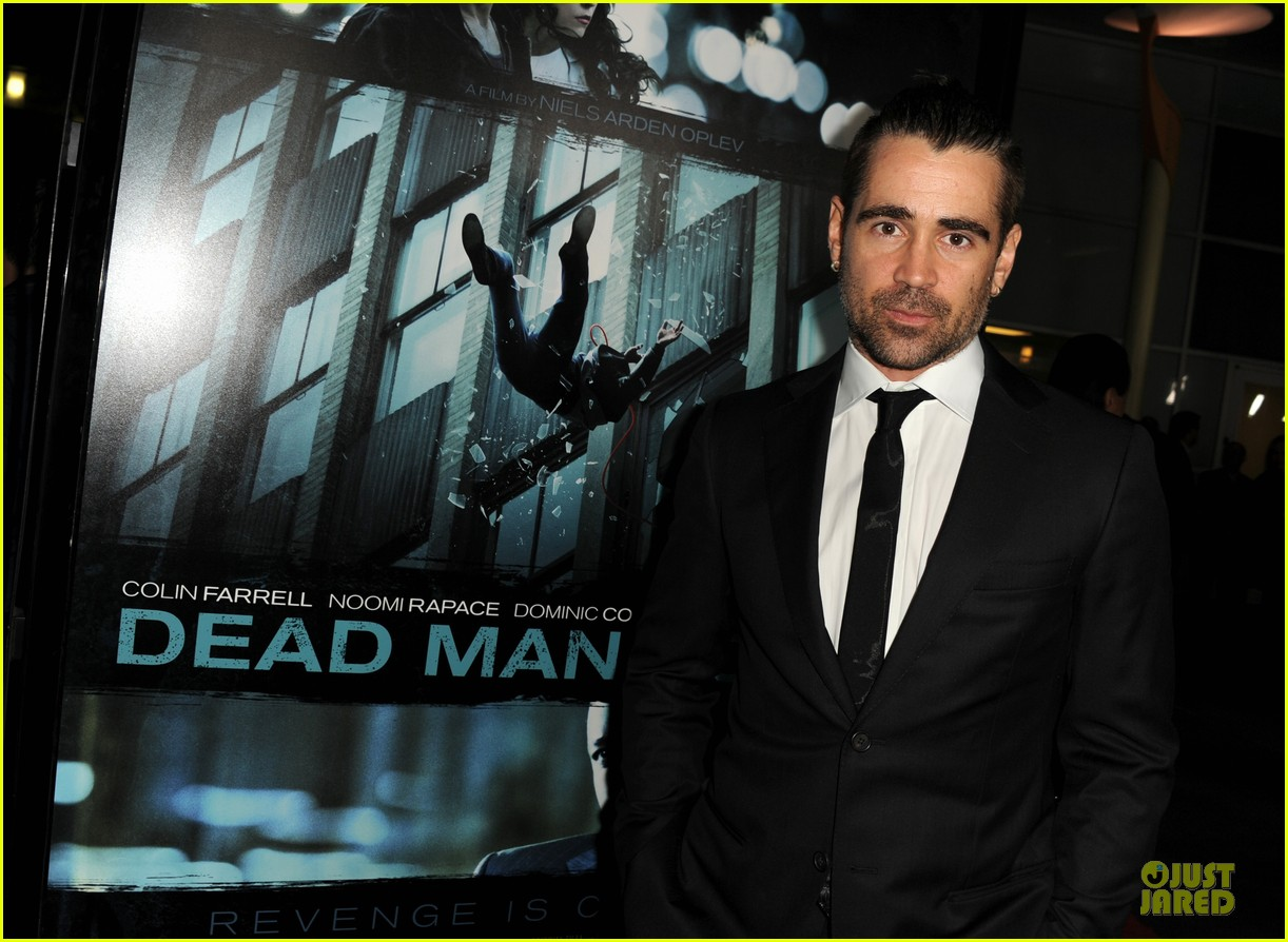 colin farrell noomi rapace dead man down hollywood premiere 332821599