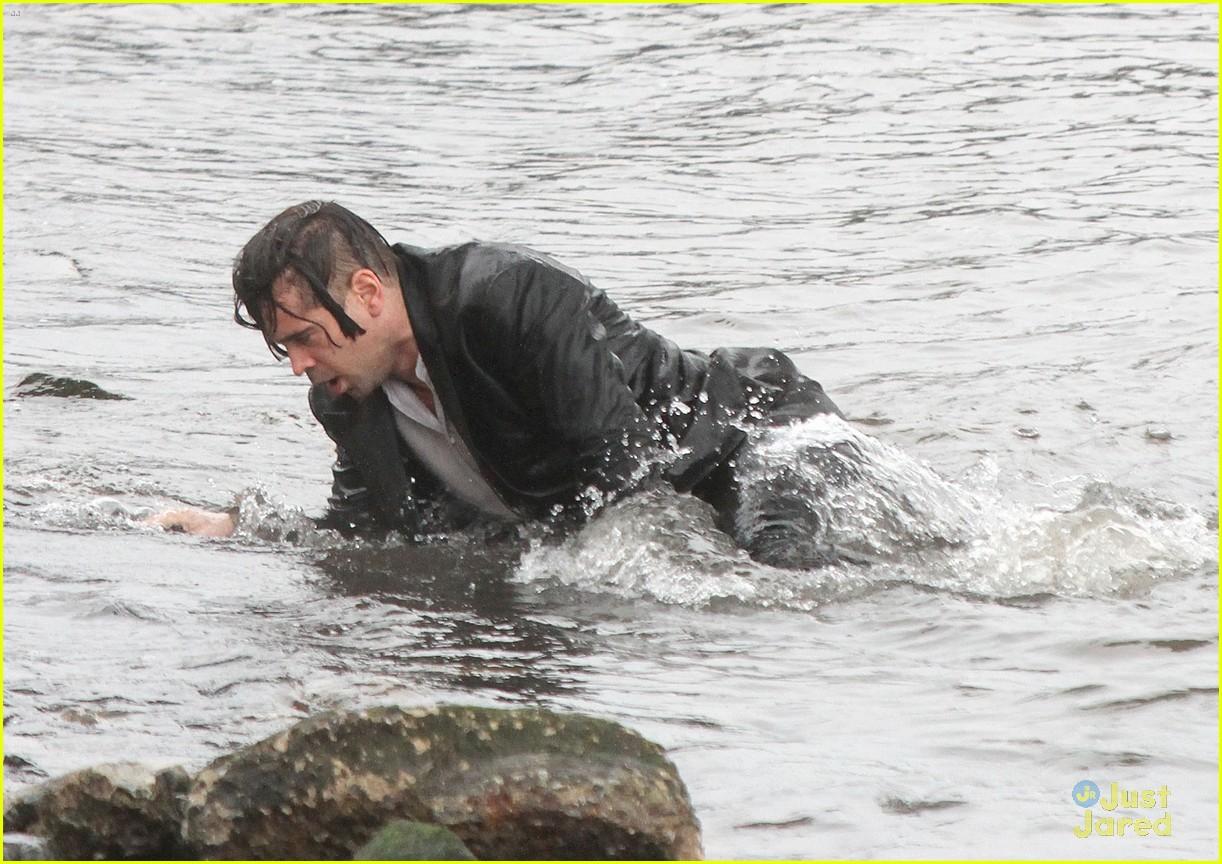 colin farrell winters tale water scenes filming 142815371
