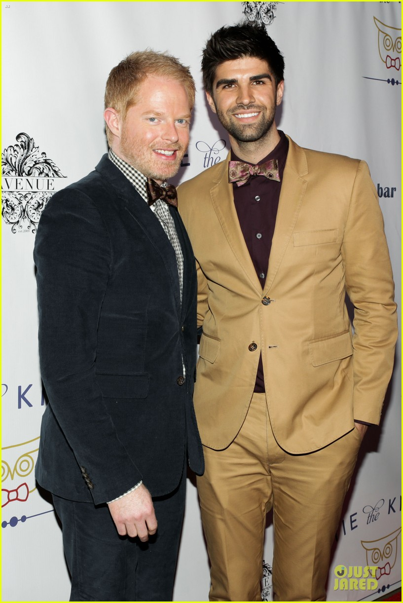 jesse tyler ferguson justin mikita tie the knot spring collection launch 022822128