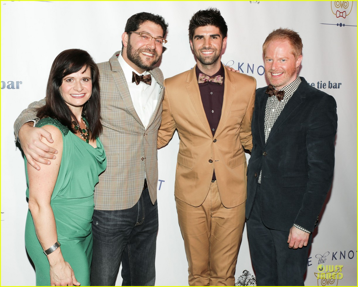jesse tyler ferguson justin mikita tie the knot spring collection launch 032822129