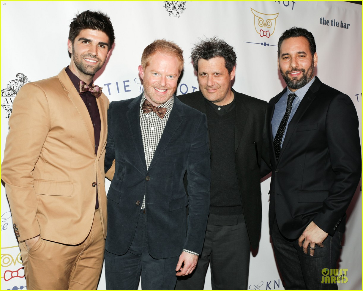 jesse tyler ferguson justin mikita tie the knot spring collection launch 052822131