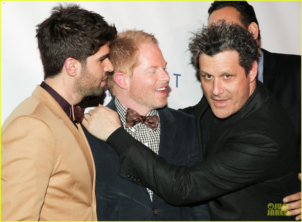 jesse tyler ferguson justin mikita tie the knot spring collection launch 092822135