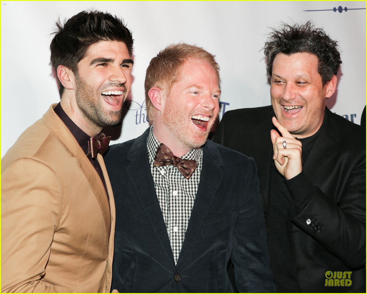 jesse tyler ferguson justin mikita tie the knot spring collection launch 102822136
