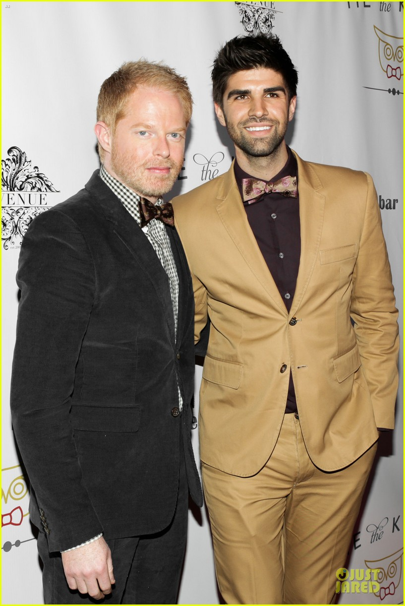 jesse tyler ferguson justin mikita tie the knot spring collection launch 11