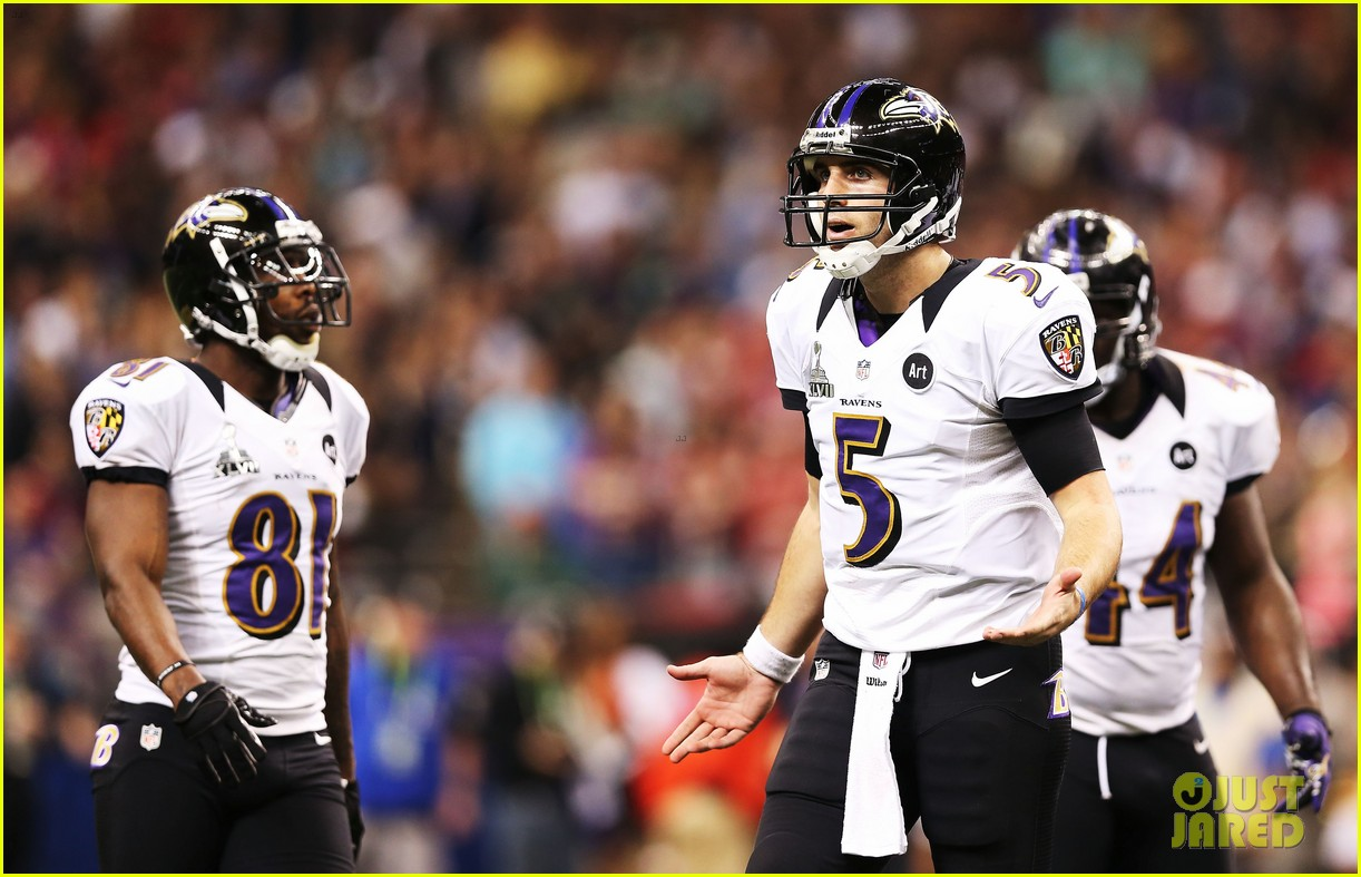joe flacco super bowl mvp 2013 for baltimore ravens 17
