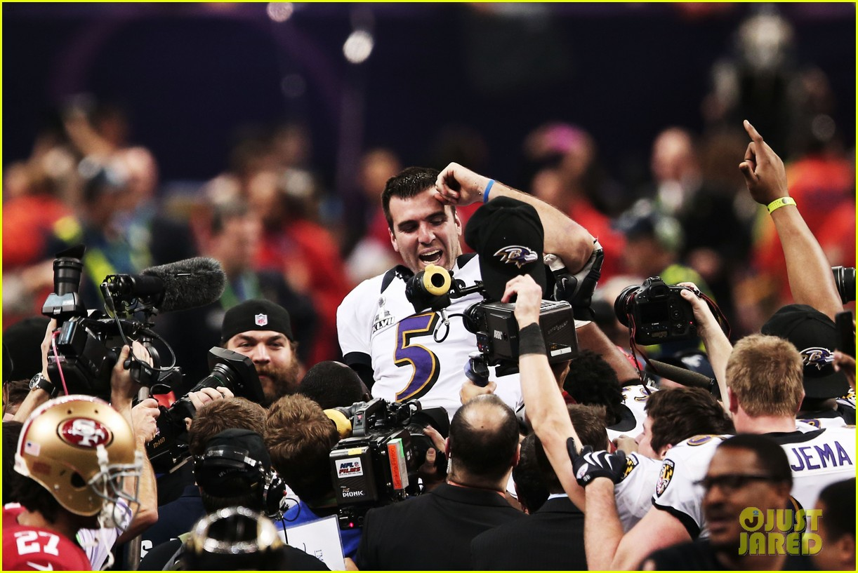 joe flacco super bowl mvp 2013 for baltimore ravens 192804336