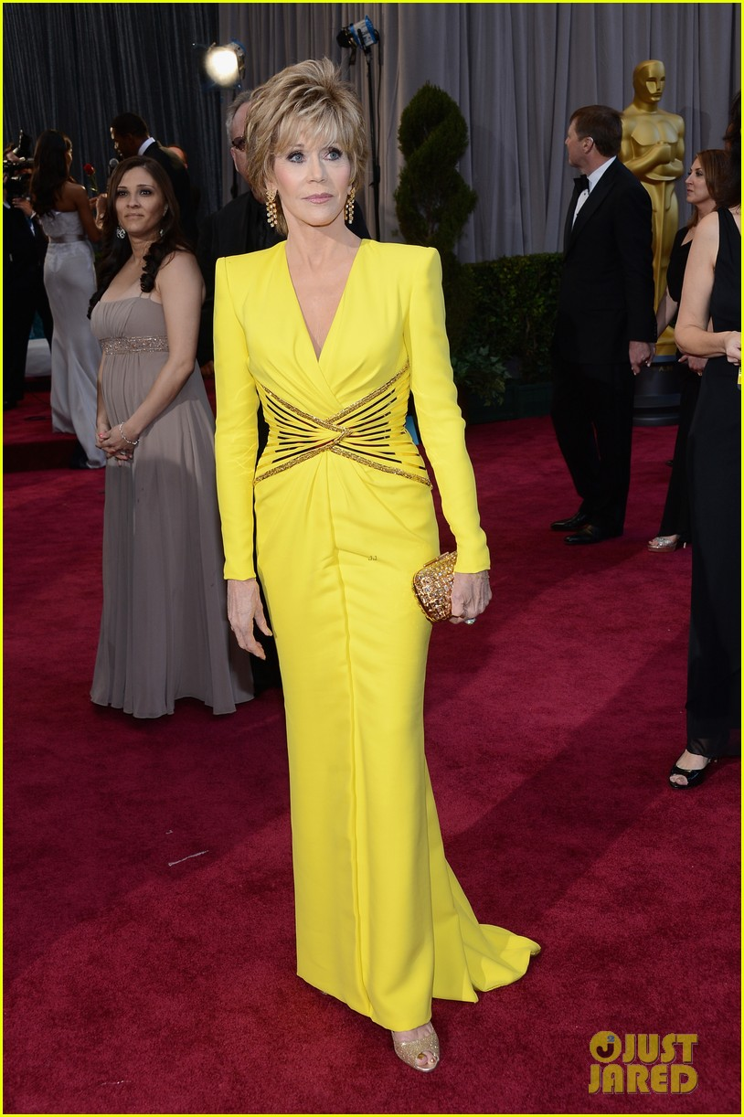jane fonda oscars red carpet 2013 132819143