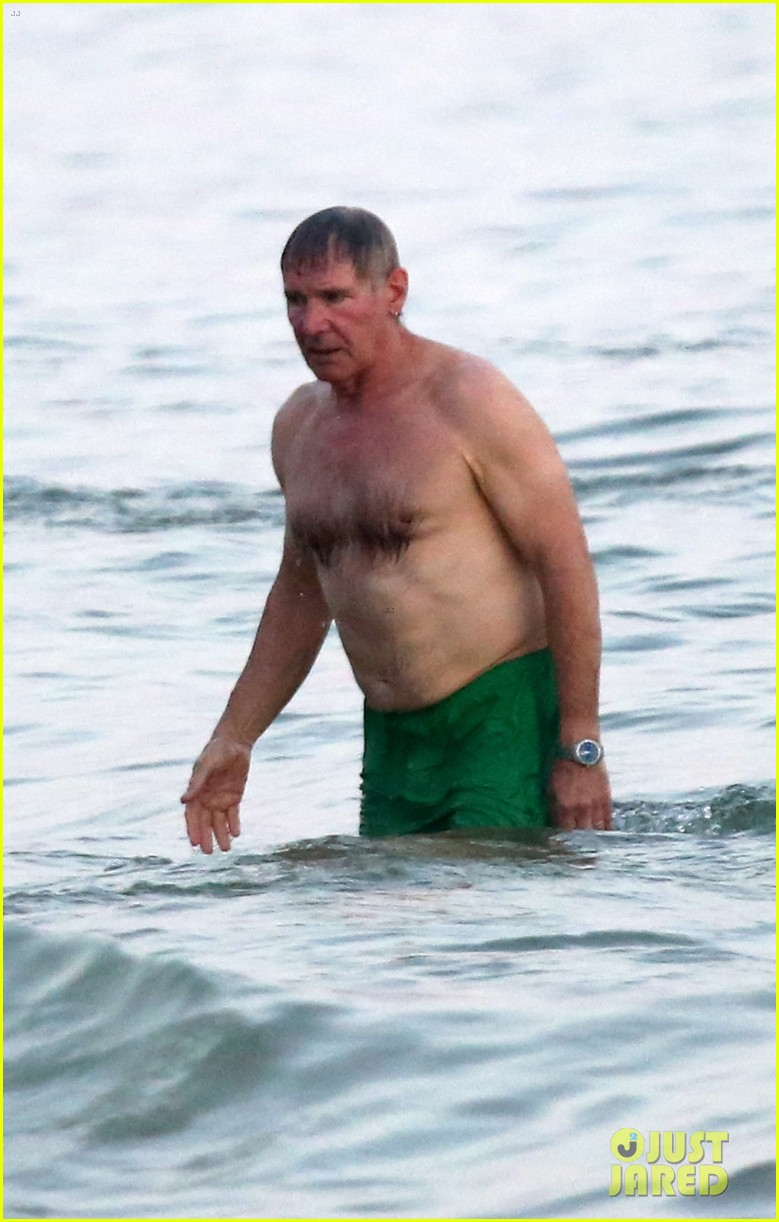 Harrison Ford: Shirtless Beach Guy in Rio!: Photo 2816024 ...
