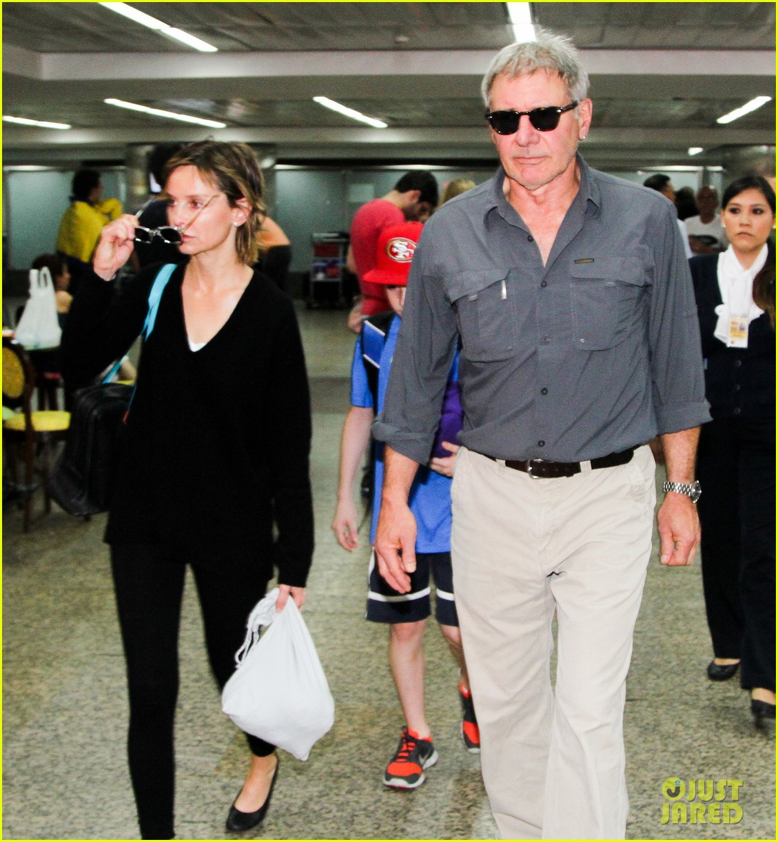 harrison ford family vacation after star wars 7 news 082813655