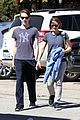 jodie foster venice beach breakfast with son charles 06