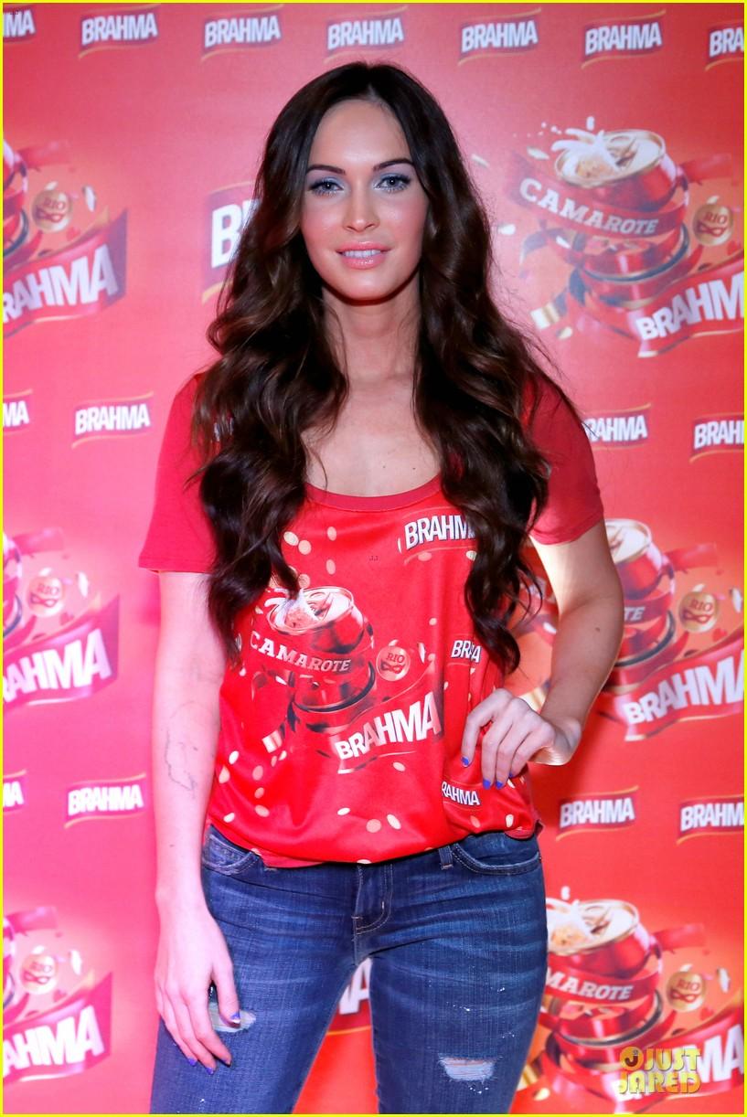 Megan Fox & Brian Austin Green: Brahma Party in Rio!: Photo 2809788 ...